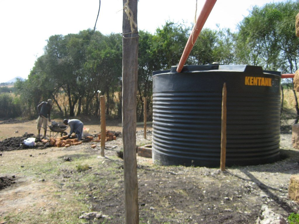 Does Extreme Weather Affect the Corrugated Rainwater Tank