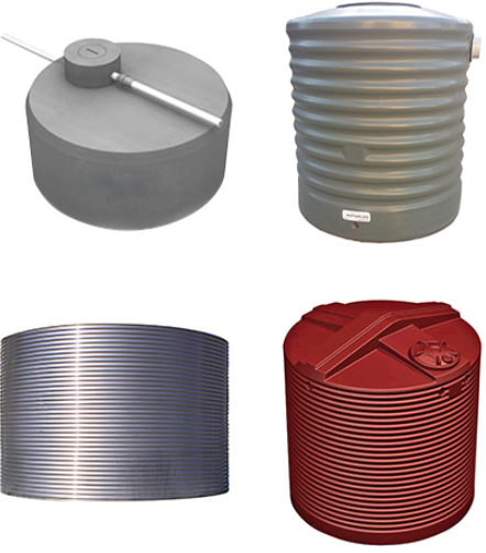 Different Materials Used for Water Tank