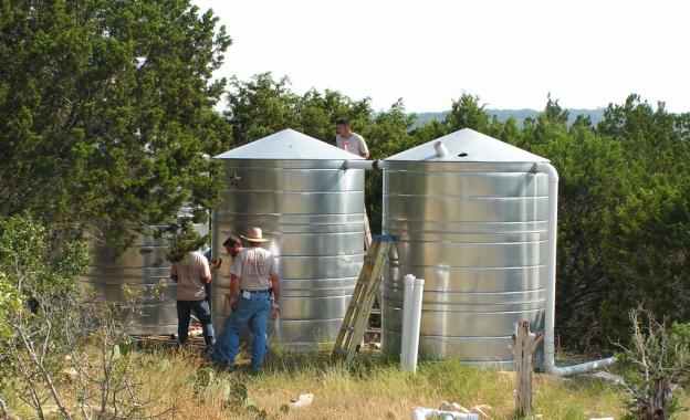 Stainless Steel Water Tank for Rainwater Harvesting