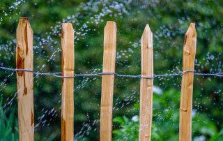 garden hose water sprinkles